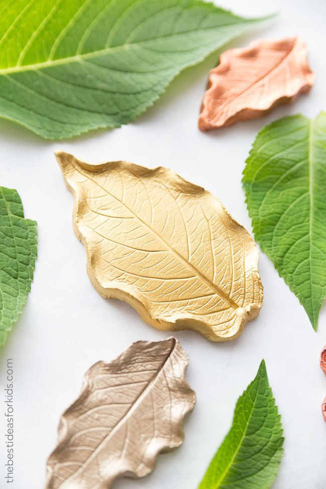 Leaf Clay Ideas for Kids