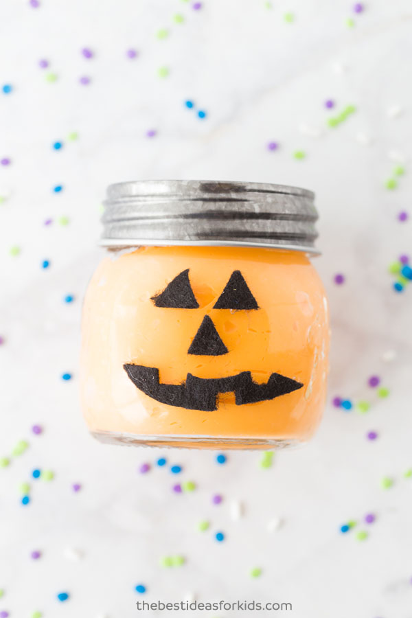 Pumpkin Slime Jar