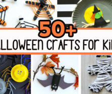 50+ Halloween Crafts for Kids
