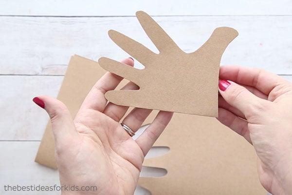 Cut Handprint Out