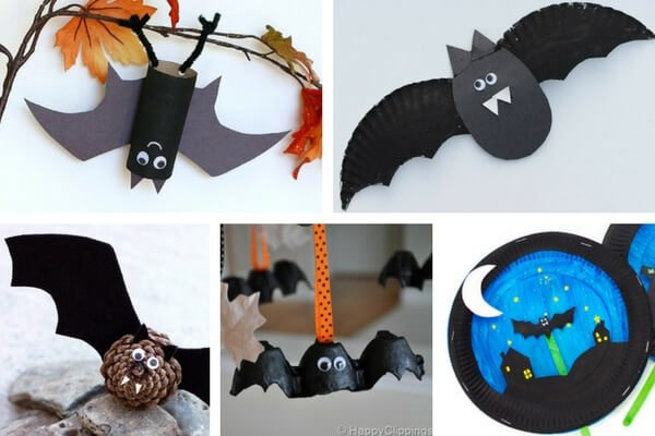 halloween bat crafts for kids with halloween craft