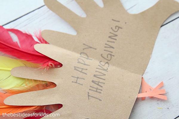 Happy Thanksgiving Turkey Craft