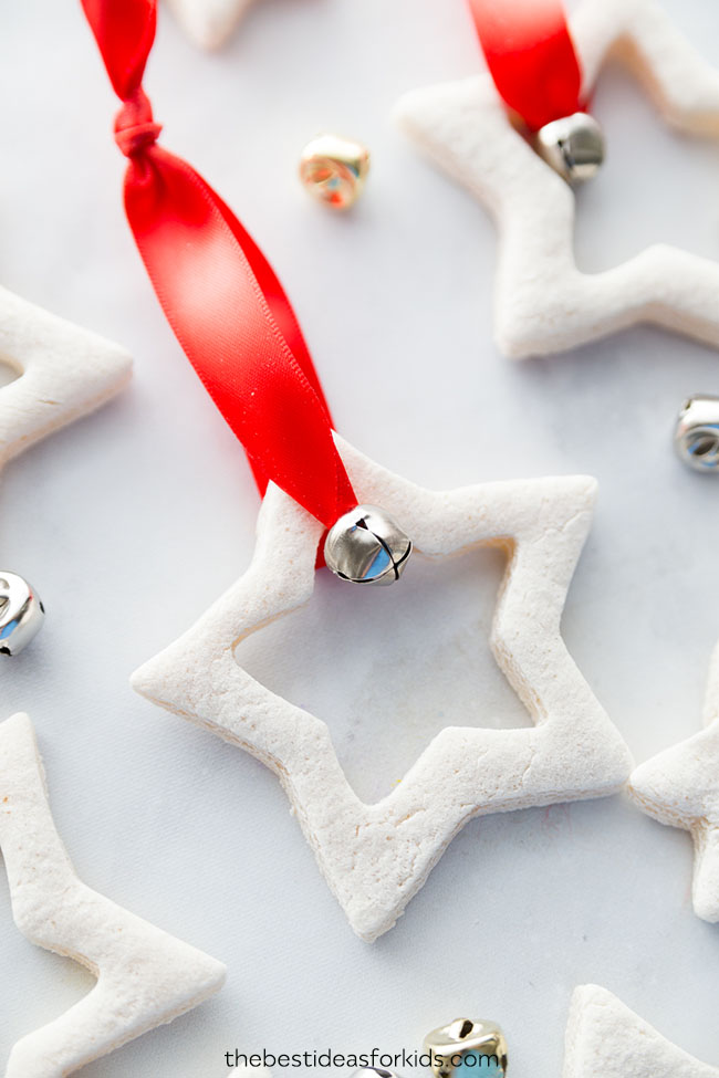 Salt Dough Christmas Decorations Stars