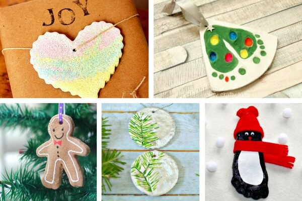 25+ Salt Dough Ornaments for Christmas - The Best Ideas for Kids