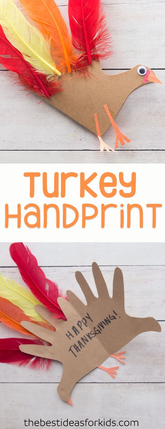 Turkey Handprint Card