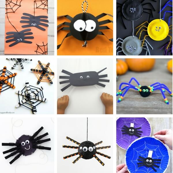 Preschool Halloween Kids Crafts