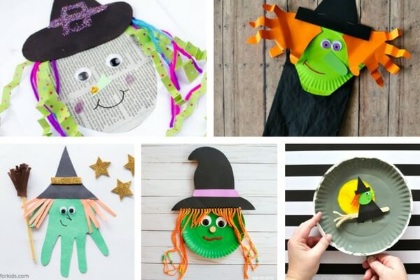 image relating to Halloween Crafts for Kids+free Printable known as 50+ Halloween Crafts for Small children - The Ideal Options for Youngsters
