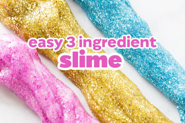 How to make glitter slime without borax or laundry detergent