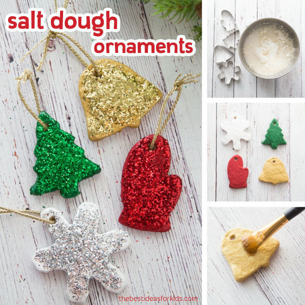 Best Salt Dough Recipe Christmas Ornaments