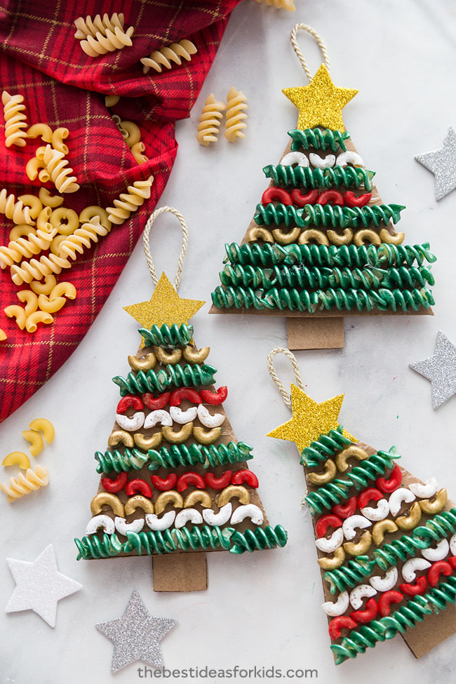 Christmas Macaroni Noodle Ornament