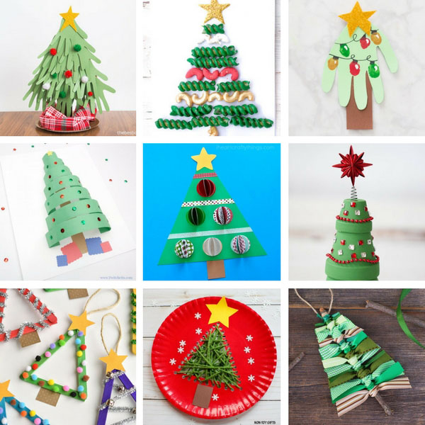 christmas crafts for toddlers - Christmas Tree Decorations For Kids