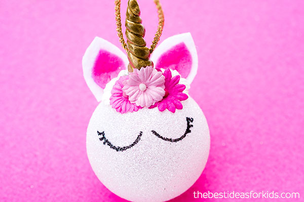 diy unicorn christmas ornaments - Unicorn Christmas Decorations