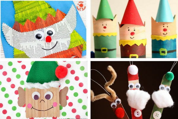 Christmas Preschool Art Projects.50 Christmas Crafts For Kids The Best Ideas For Kids