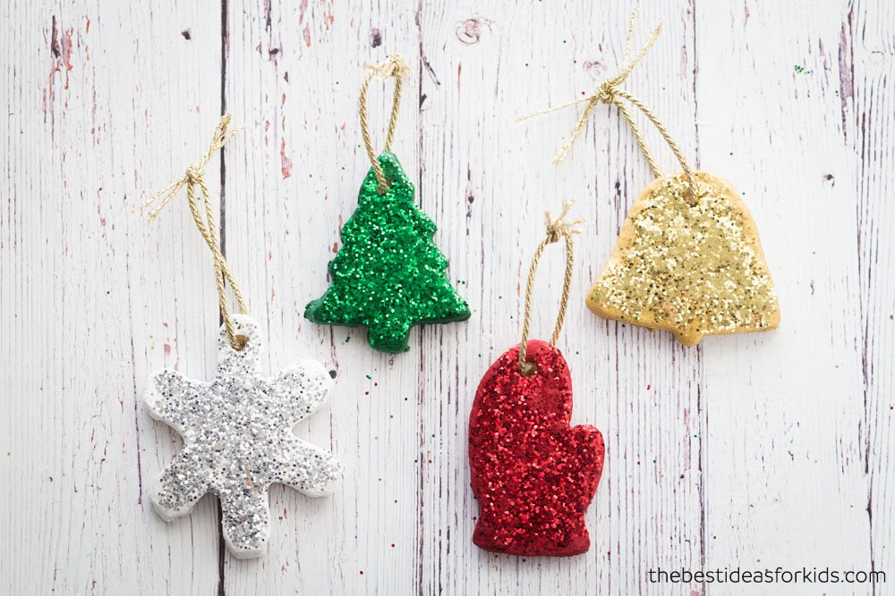 Salt Dough Ornaments Recipe