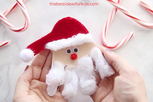 Santa Claus Handprint