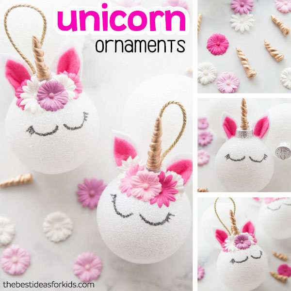 unicorn ornament diy - Unicorn Christmas Decorations