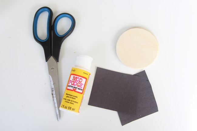 Silhouette Ornament Supplies