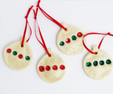Christmas Tree Fingerprint Ornament