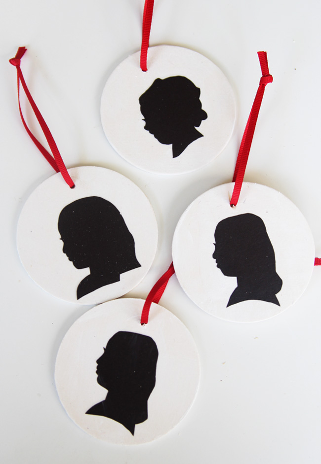 Christmas Ornament Silhouette The Best Ideas For Kids