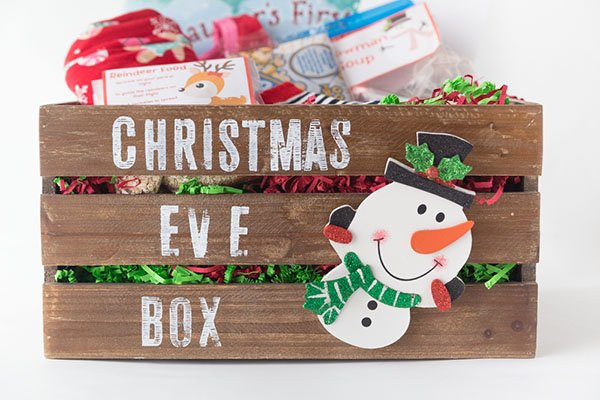 Christmas Eve Box Diy Ideas And Free Printables