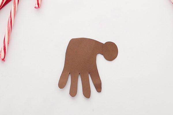 Christmas Handprint Reindeer
