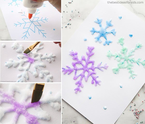 Salt Painting Craft