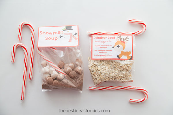 Snowman Soup and Reindeer Food