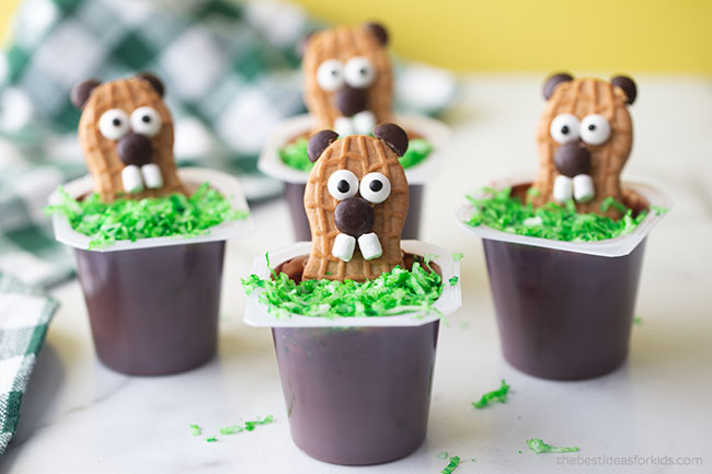 Groundhog Day Snack for Kids