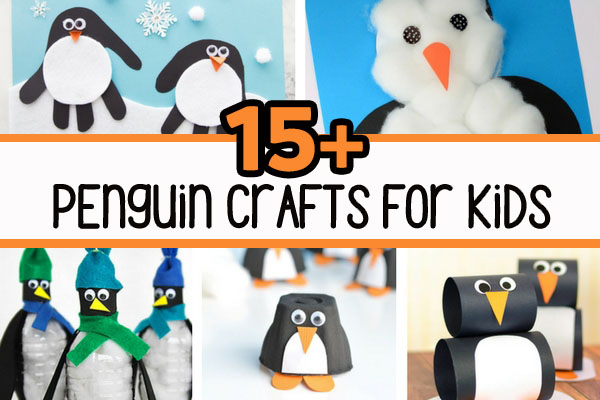 15 adorable penguin crafts for kids - Pictures For Kids