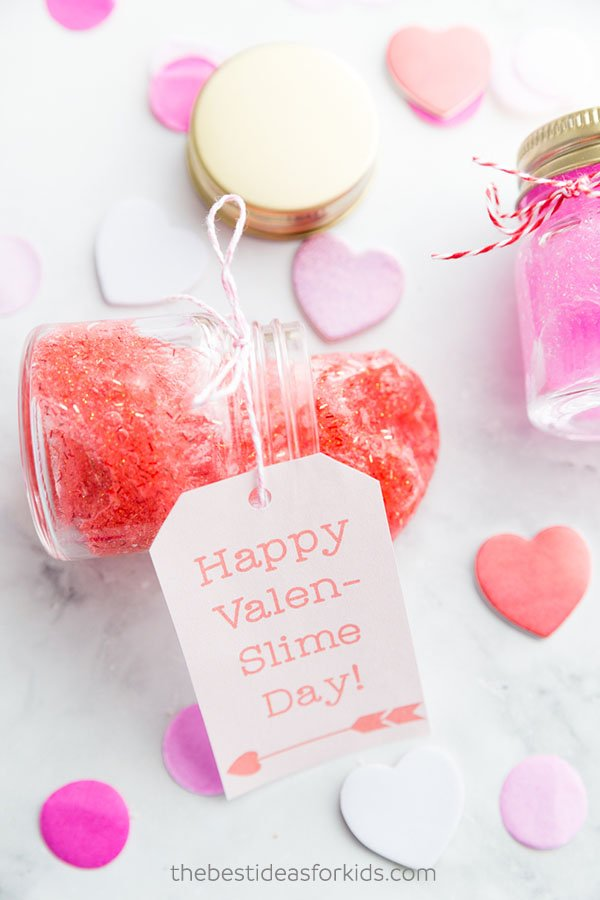 Valentine Slime Recipe - The Best Ideas for Kids