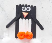 Popsicle Stick Penguin