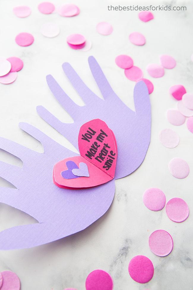 Valentine Handprint
