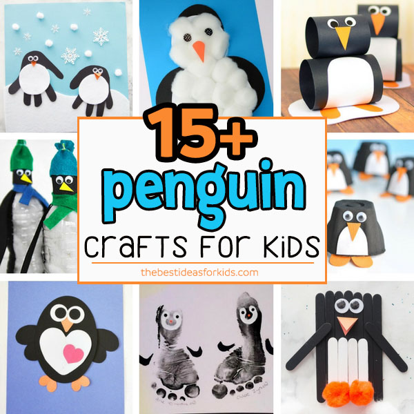 Winter Penguin Crafts For Preschoolers