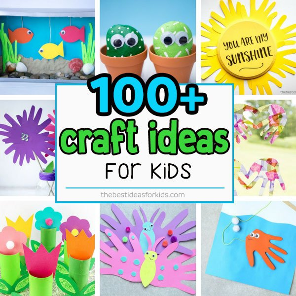 Easy Craft Ideas For Kids