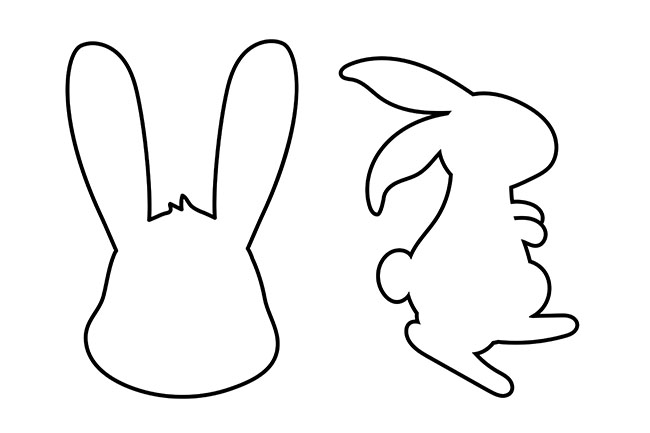 Bunny Template Rabbit