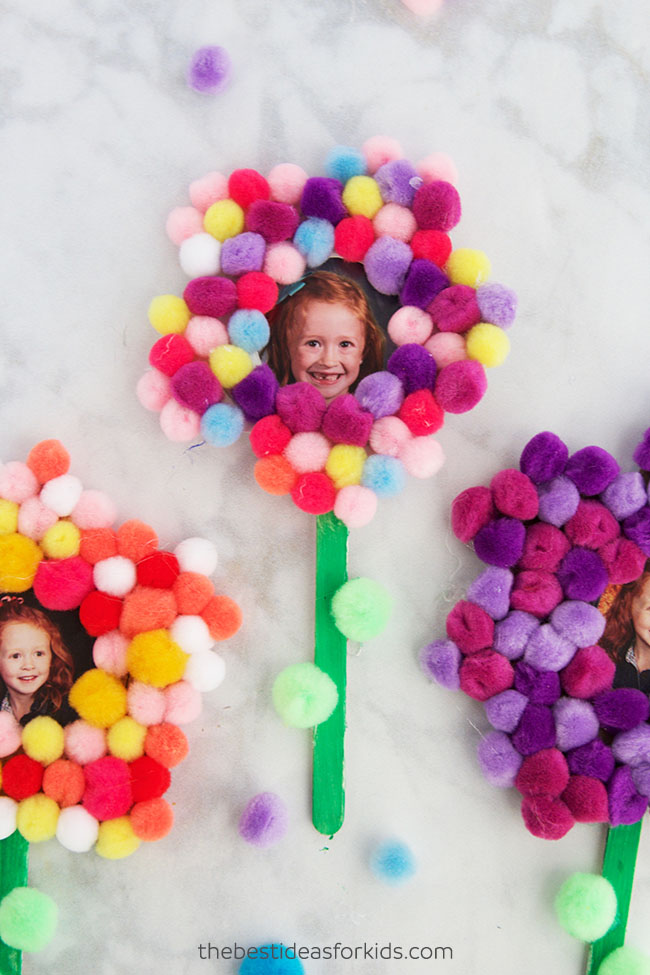 Flower Craft Idea for Mother's Day