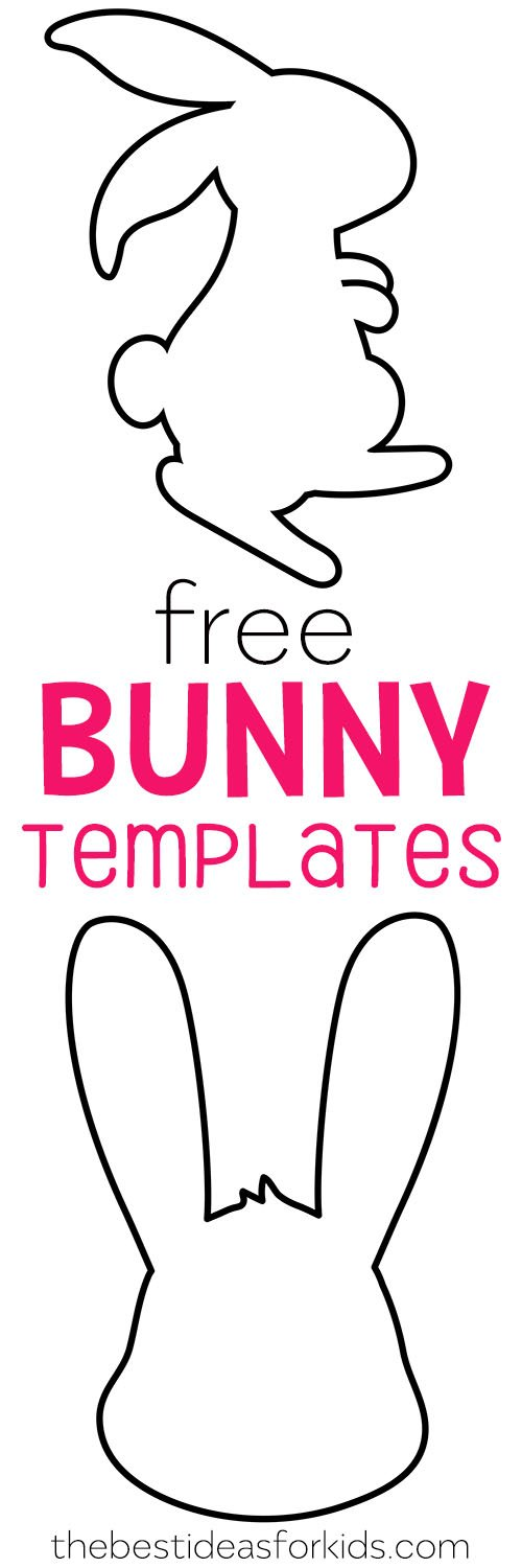 photo relating to Bunny Template Printable identify Easter Bunny Template - The Suitable Suggestions for Children