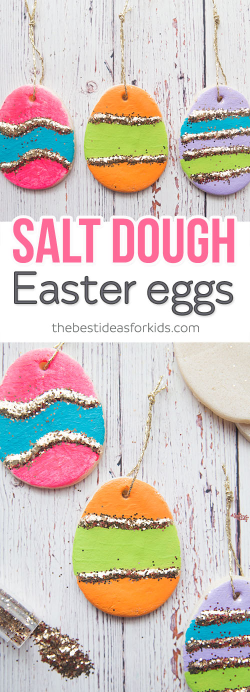 Salt Dough Easter Eggs The Best Ideas For Kids