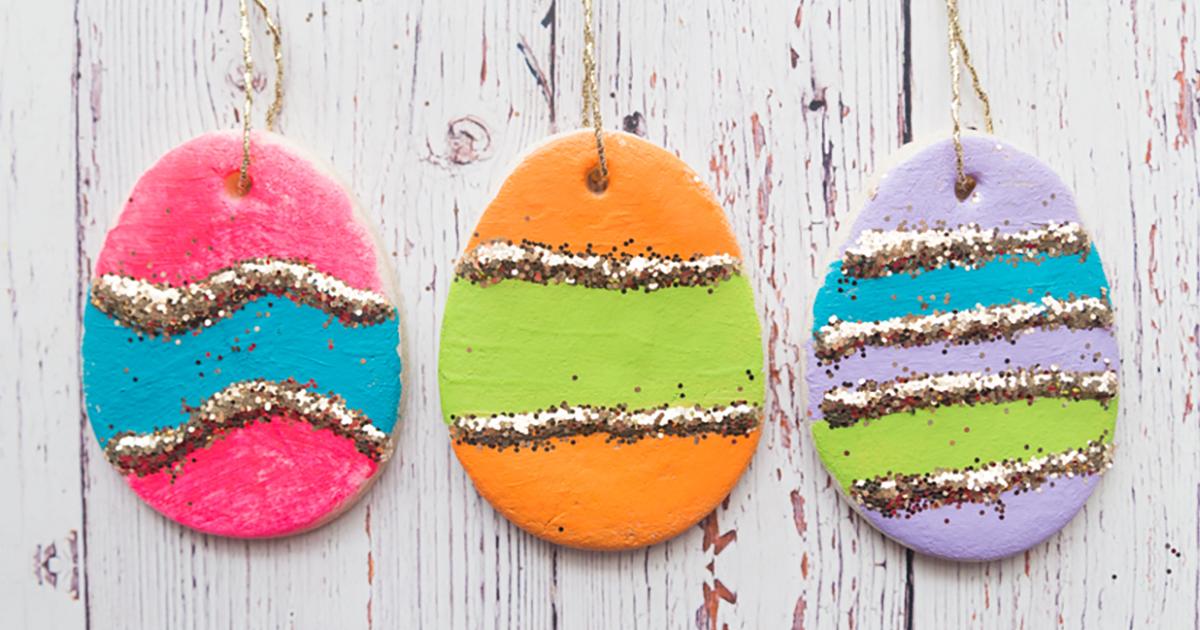Salt Dough Easter Eggs - The Best Ideas for Kids