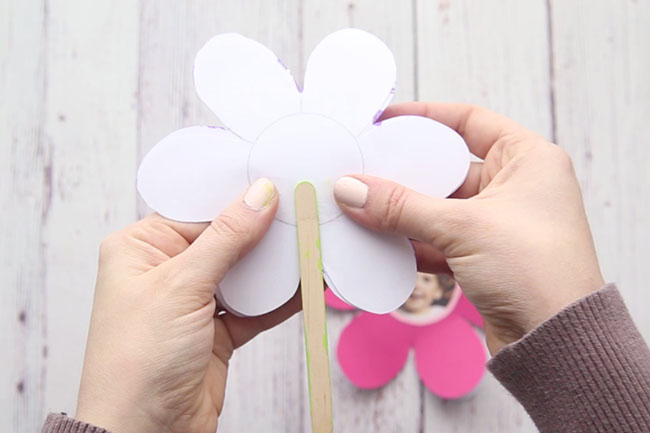 Printable Flower Template