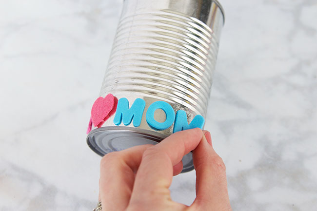 DIY Tin Can Flower Pots