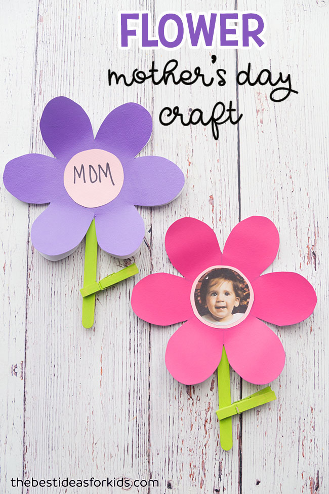 mothers day crafts for grandma flower template the best ideas for 6935