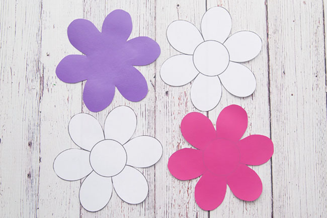 image about Free Printable Flower Template referred to as Flower Template - The Suitable Suggestions for Youngsters