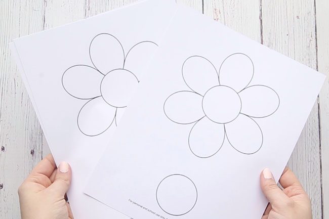Free Printable Flower Template
