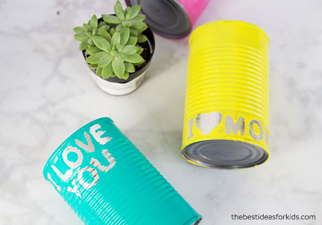 Growing Plants in Tin Cans
