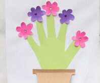 Handprint Flower Card
