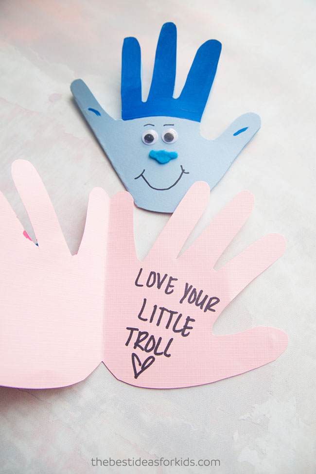Trolls craft - love your little troll