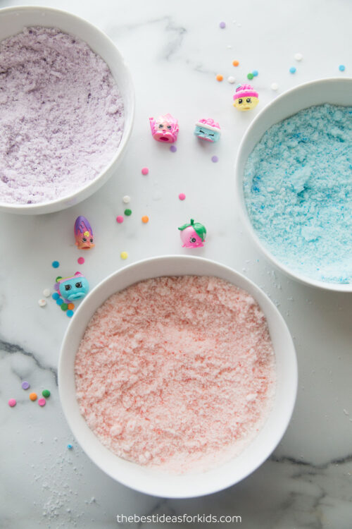 Add Food Coloring to Mixture