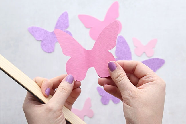 image about Printable Butterfly Template called Butterfly Template - The Simplest Plans for Youngsters