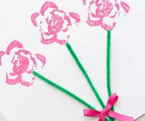 Celery Stamping Flower